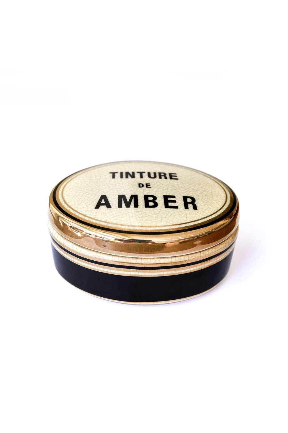 Tinture Candle Oval - Amber