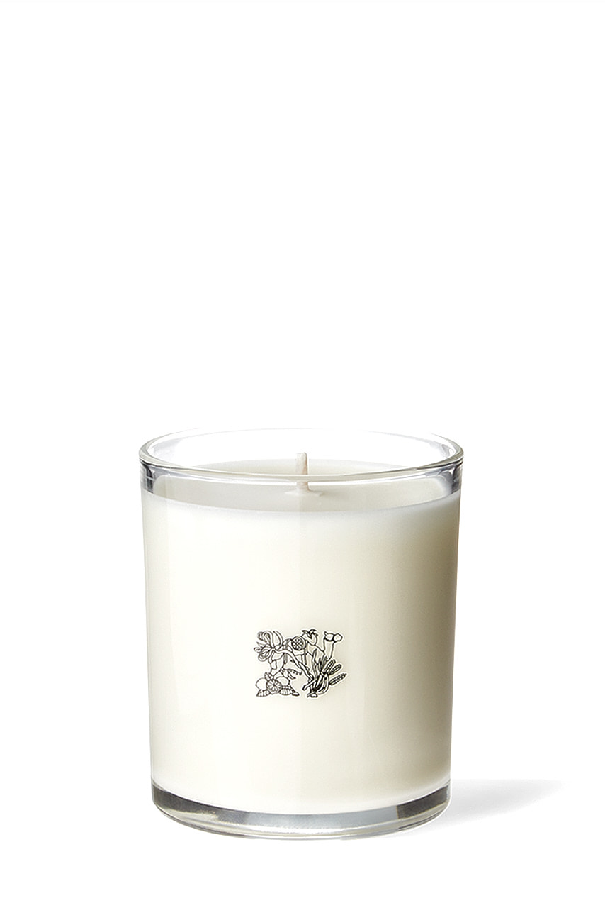 Glass Candle - 24K Rose