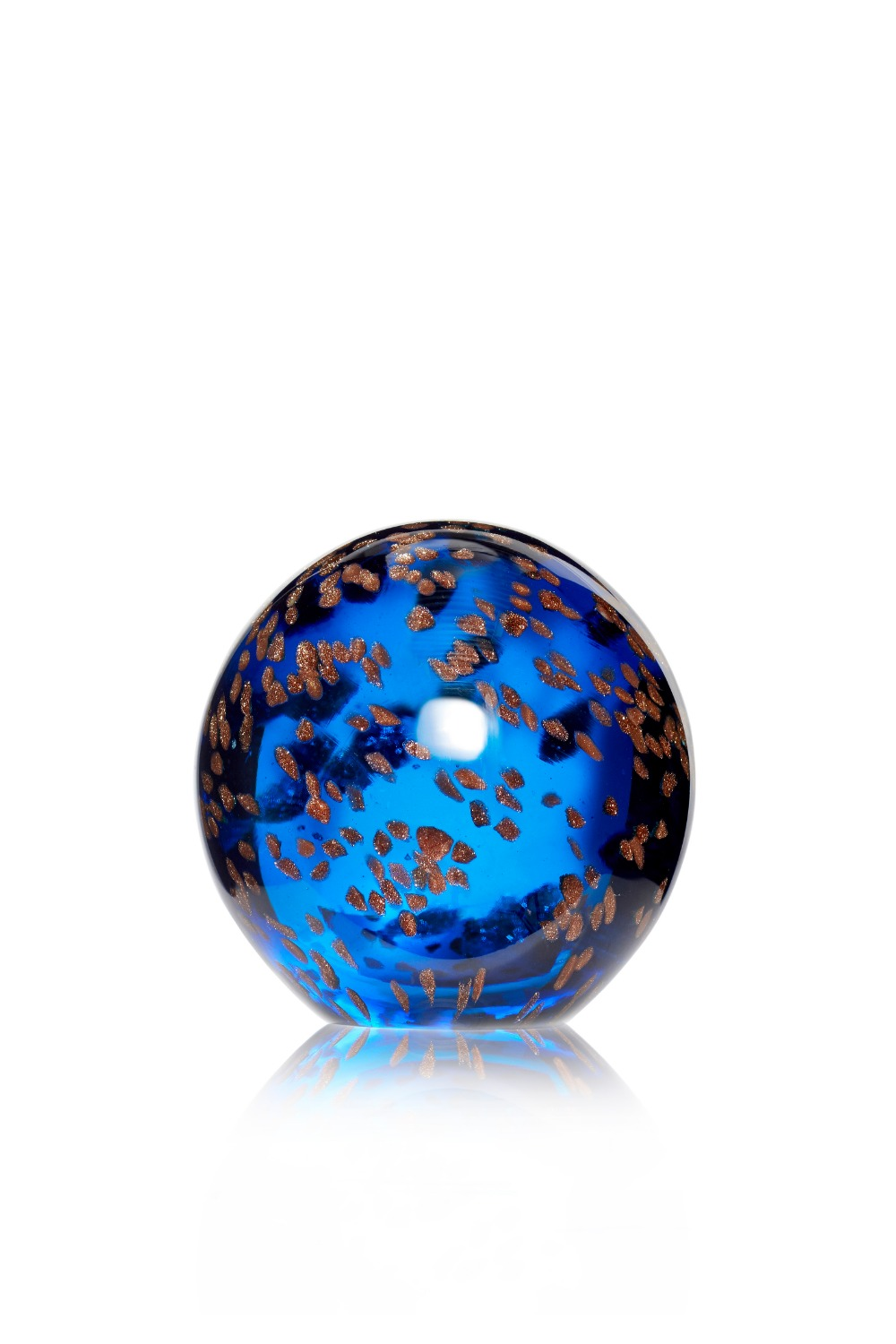 Paperweight Glass Blue